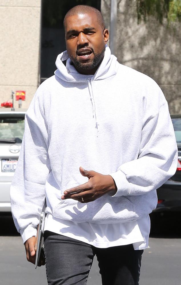 Astounding Kanye West39S New Blonde Hairstyle Blarckbillboard Short Hairstyles Gunalazisus